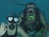 Potápění dětí při tréninku VZS